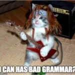 Songs with Bad Grammar