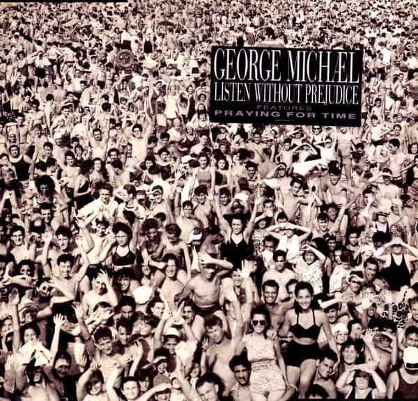 George Michael - Listen Without Prejudice album cover