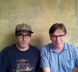 Joe Pernice and Norman Blake of the New Mendicants
