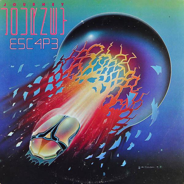 Journey - Escape album cover