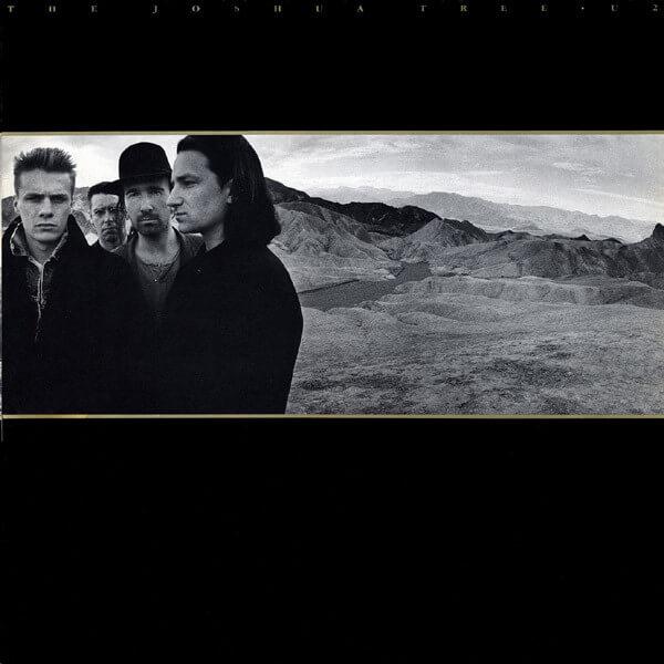 U2 - The Joshua Tree album cover