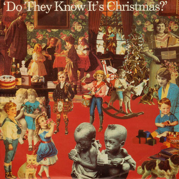 Band Aid Do They Know It's Christmas single