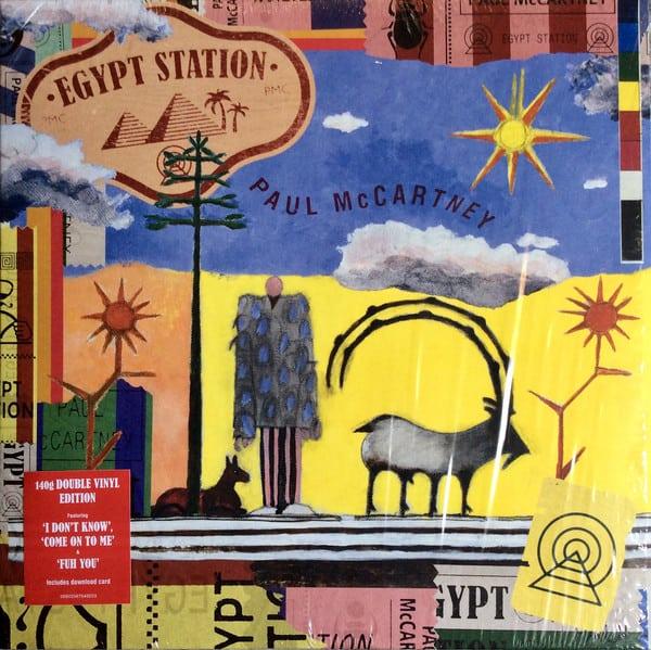 Paul McCartney - Egypt Station album cover