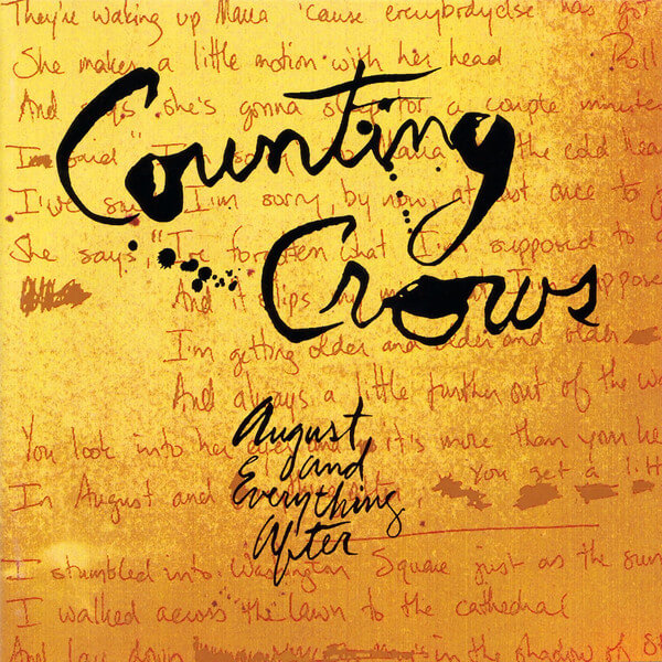 counting crows august and everything after album cover