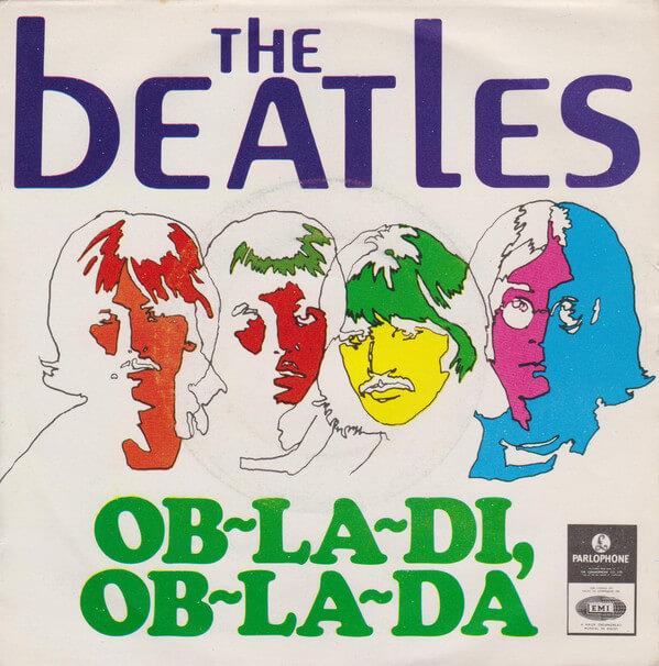 The Beatles - Ob-La-Di, Ob-La-Da single
