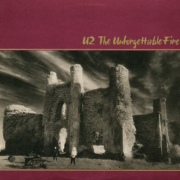 u2 - unforgettable fire album cover
