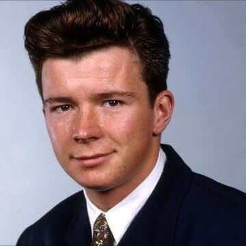 Rick Astley - young