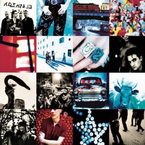 U2 = Achtung Baby album cover