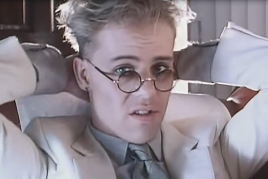 Thomas Dolby in 1982